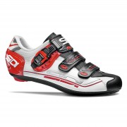 Sidi Genius 7 Road Shoes - White/Black/Red - EU 45 - White/Black/Red