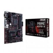 Дънна платка Asus Prime, X370-A, AM4, DDR4, PCI-E(CF), 6x SATA 6Gb/s, M.2 socket, 8x USB 3.1, ATX