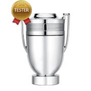 Paco Rabanne Invictus Silver Cup EDT 100мл - Тестер за мъже