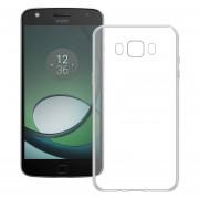Funda Para Motorola Xt1635 Moto Z Play Silicon TPU - Transparente