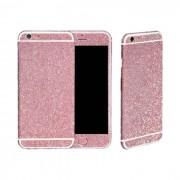 Bpfy® Sticker De Personnalisation Paillette Strass Luxe Rose Pour Iphone 6/6s