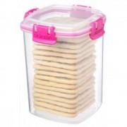 Cutie pentru alimente din plastic, dreptunghiulara, inalta 0.9 L ACCENTS, SISTEMA