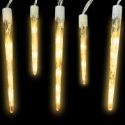 vidaXL Vianočné svetelné cencúle 96 LEDki