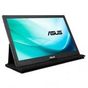 "Asustek ASUS MB169C+ - Monitor LED - 15.6"" - portátil - 1920 x 1080 Full HD (1080p) - IPS - 220 cd/m² - 5 ms - USB - preto, prata"