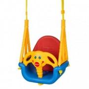 Leagan convertibil 3 în 1 pentru copii 6 luni - 7 ani - Albastru cu Rosu