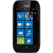 Microsoft Nokia Lumia 710 Smartphone (9,4 cm (3,7 Zoll) Touchscreen, 5 Megapixel Kamera, Windows Phone Mango OS) schwarz