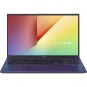 Laptop Asus VivoBook 15 X512JA-EJ351T 15.6 inch FHD Intel Core i3-1005G1 8GB DDR4 256GB SSD FPR Windows 10 Home Peacock Blue