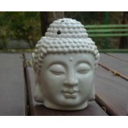 Buddha fej szobor párologtató /fehér/