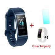 Pulsera inteligente Huawei Band 3 Pro GPS Metal Amoled 0,95 'pantalla táctil a todo Color natación