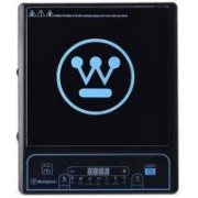 Westinghouse IC01K1P-CA Induction cooktop ceramic with 7 preset programmers and 2000W Induction Cooktop(Black, Push Button)