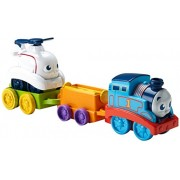 Fisher-Price Roll & Spin Rescue Train Children's Toy