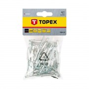 Nituri aluminiu 50 buc/set TOPEX