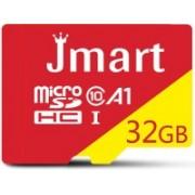 Jmart Ultra Premium 32 GB MicroSD Card Class 10 100 MB/s Memory Card(With Adapter)