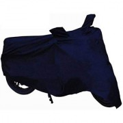 Spidy Moto Waterproof Navy Blue Bike Body Cover Universal for Motorcycle