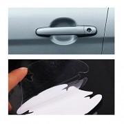 Alcoa Prime 4pcs Invisible Car Auto Door Handle Paint Scratch Protective Film Sheet Cover