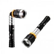 Lanterna LED 3W cu Cap rotativ, Zoom si Magnet BL9508/615