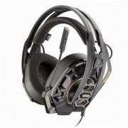 Геймърски слушалки Plantronics RIG 500 PRO HA, 3.5 mm жак, микрофон, златист/черен, PLANT-HEAD-RIG500PROHA