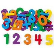 FunBlast™ (Pack of 1) Magnetic Learning Letters Alphabets and Numbers, Premium Quality ABC, ABC and 123 Educational Magnets with Mathematical Symbol for Kids, Multicolor (Numbers)