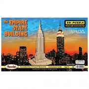 Puzzled The Empire State Building Wooden 3 D Puzzle Construction Kit