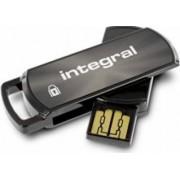 USB Flash Drive Integral 360 8GB Secure Negru