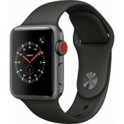 Apple Watch Series 3 (GPS + Cellular) 42mm Space Grey Black Sport Band Space Grey