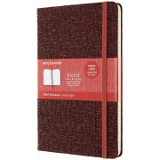 Moleskine Taccuino Blend Limited Edition large a righe rosso. Red