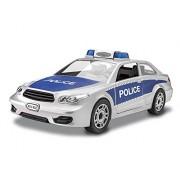 Revell Junior Police Car Model Kit, Silver