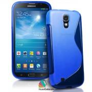 Husa Samsung i9200 Galaxy Mega 6.3 Silicon Gel Tpu S-Line Albastra