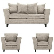 Gioteak Pumpli 5 seater sofa set grey color