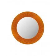 Kartell All Saints Spiegel mit LED-Beleuchtung bernstein transparent