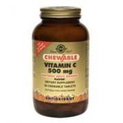Vitamina c 500 mg (natural juicy orange) 90tbl SOLGAR
