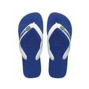 Havaianas-Slippers-Flipflops Brasil Logo-Blauw