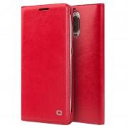Huawei Mate 9 Pro, Mate 9 Porsche Design Qialino Leather Case - Red