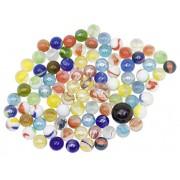 Üveggolyó játék készlet 88 db-os