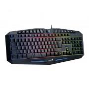 GENIUS K9 Scorpion Gaming USB US crna tastatura