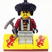 "Minifigure Packs: Lego Adventurers Orient Expedition Bundle ""(1) Ngan Pa Yeti Hunter"" ""(1) Figure Display Base"" ""(1) Figure Accessory"""