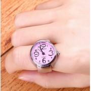 Pink gyűrű-óra
