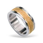 Prsten z chirurgické oceli RSS424 ROSEGOLD