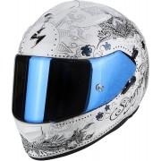 Scorpion Casco Moto Integrale Exo-510 Air Azalea Pearl White Silver
