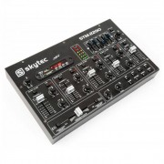 Skytec STM-2290 Table de mixage 6 canaux Bluetooth USB SD MP3 FX