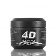 Gel UV 4D Plastilina Alb