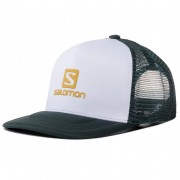 Шапка с козирка SALOMON - Summer Logo Cap M LC13167 10 G0 White/Green