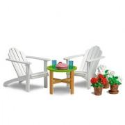 Lundby Smaland Dollhouse Garden Furniture Set