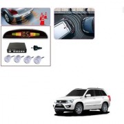 Auto Addict Car Silver Reverse Parking Sensor With LED Display For Maruti Suzuki Grand Vitara