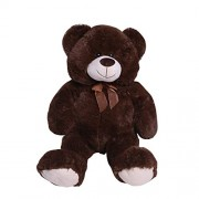HollyHOME Teddy Bear Plush Giant Teddy Bears Stuffed Animals Teddy Bear Love 36 inch Brown
