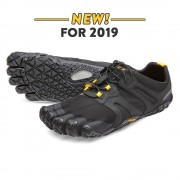 Vibram - V Trail 2.0 Black Yellow Men - Teen Schoenen