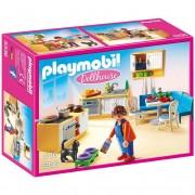 Playmobil dollhouse cucina rustica arredata