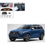 Auto Addict Car Silver Reverse Parking Sensor With LED Display For Volvo XC90