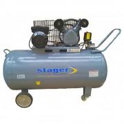 Compresor aer Stager HM-V-0.25/250 250L 8bar