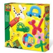 Детски креативен комплект Направи си Фигури от балони SES, 0814017